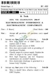 UPTU B.Tech Question Papers - EC-022-Electromagnetic Interference & Electromagnetic Compatibility