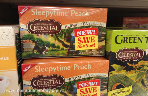 Celestial Seasonings Sleeptime Peach