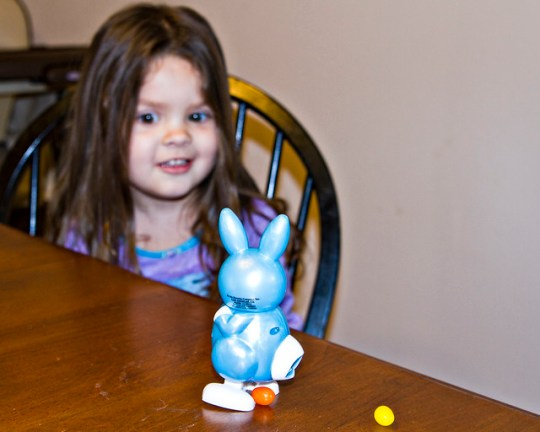 """the """"poop bunny"""" is hilarious, apparently"""