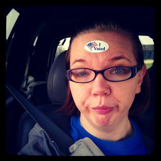 Durr, I voted.