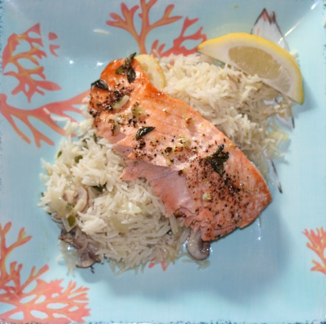Lemon-Oregano-Salmon