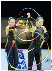 Japon, 3 balles, 2 rubans, Championnat Internationaux GRS Thiais 2013