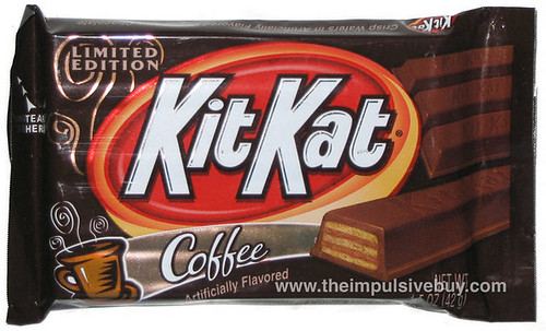 Limited Edition Coffee KitKat