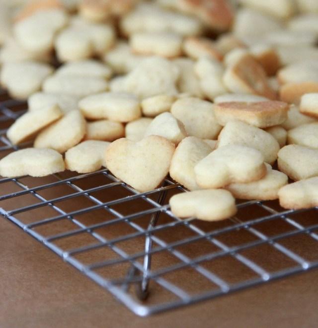 sugar cookies hearts