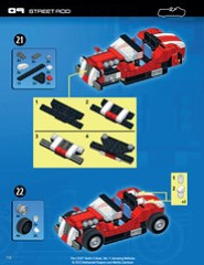 The LEGO Build-it Book, Vol. 1: Amazing Vehicles (p. 116)