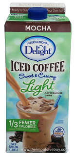International Delight Mocha Iced Coffee Light