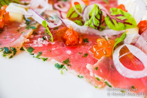 Cafe Sydney tuna carpaccio