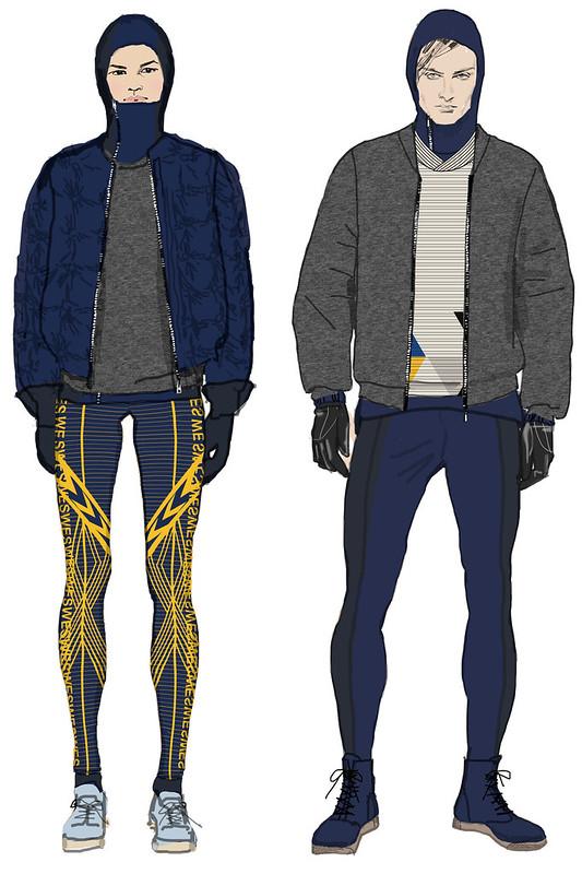 H&M olympic uniforms