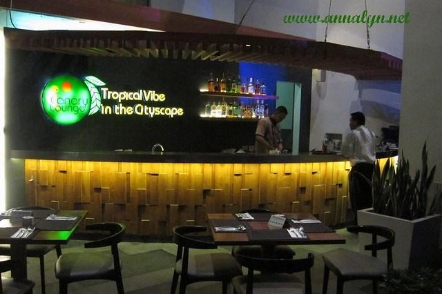 F1 Hotel Bar Area
