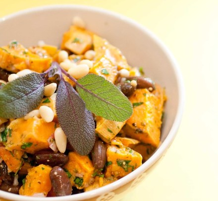 Sweet Potato and Rio Zape Bean Salad (4 of 4)