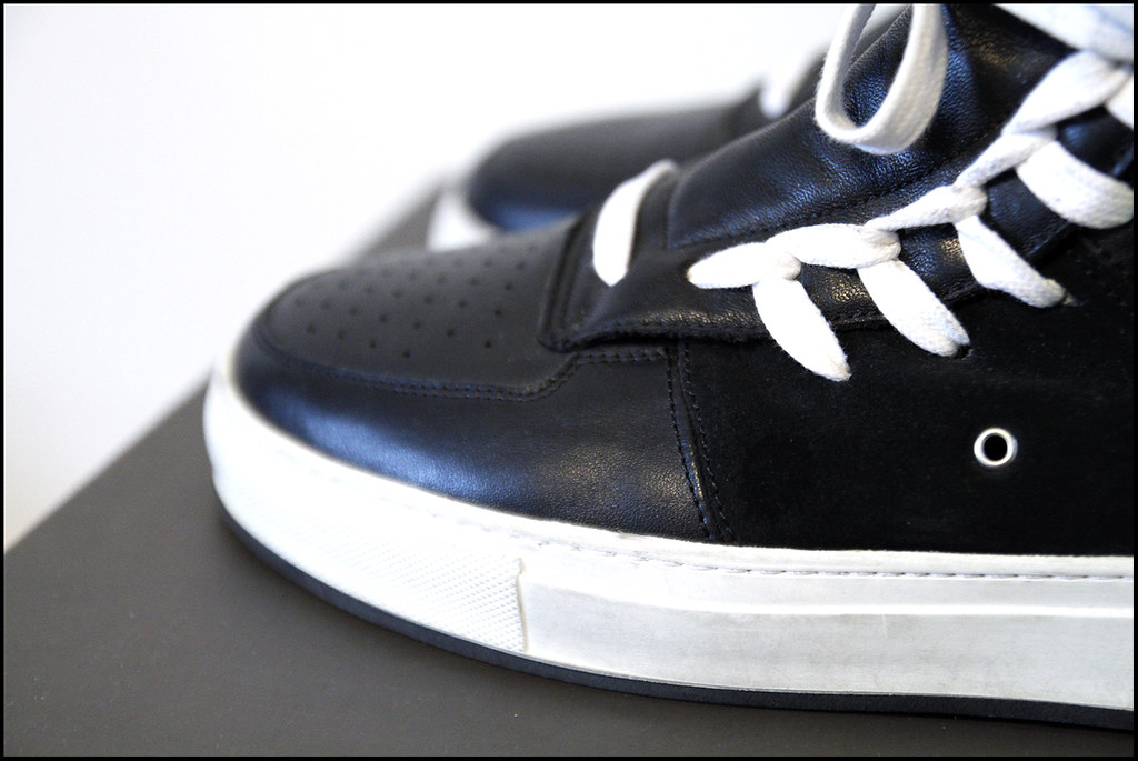 Tuukka13 - Sneak(er) Preview - My New Kris Van Assche High Top Sneakers x2 - Surgery and Hidden Laces - 3