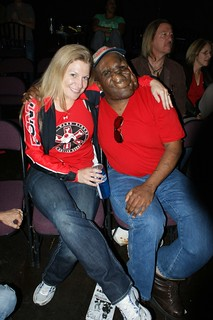 Reggie at the Houston Roller Derby