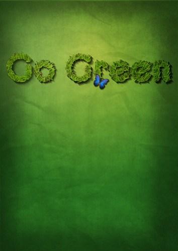 Go Green
