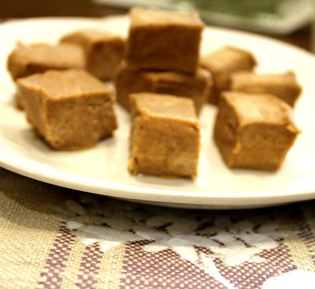 almond butter fudge