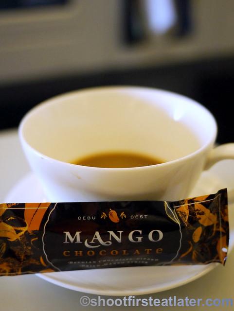Philippine Airlines Meals- Cebu Best Mango Chocolate