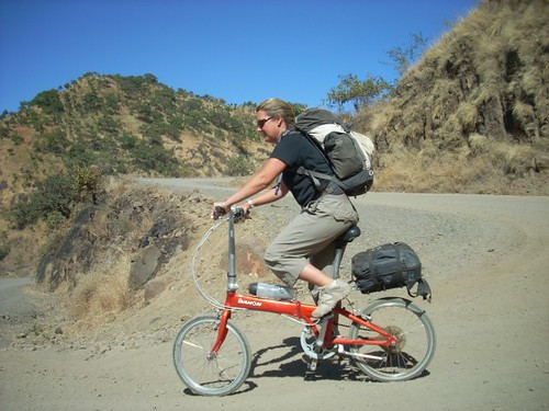 Travels by folding bike