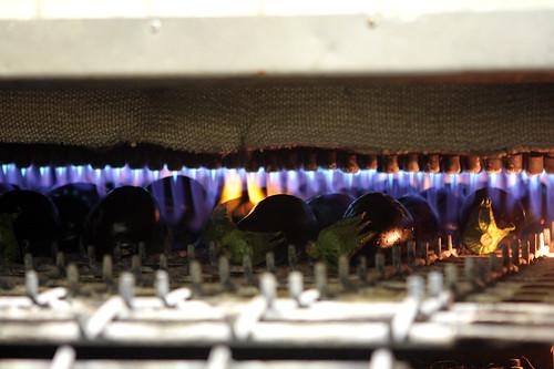roasting eggplant in oven