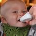Taste testing (Maxwell digs it)