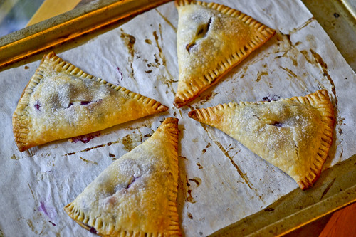 Blueberry-Cream Cheese Hand Pies 13