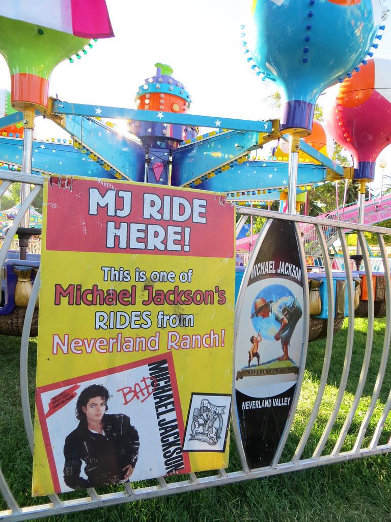 Alameda County Fair: Balloon Samba Ride from Michael Jackson's Neverland Ranch