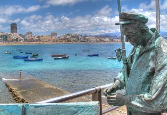 Canary Islands beaches, Las Canteras