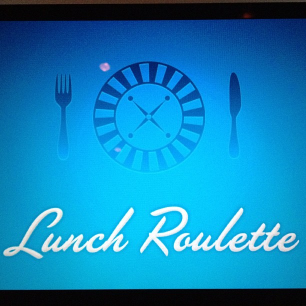 @blacktar: Never lunch alone again! Meet new people over chow: http://t.co/mOjUtEU0 Sign up and we'll match you with a lunch date near you! #swAMS