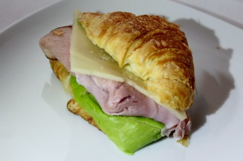 Ham and Cheese Mini Croissant
