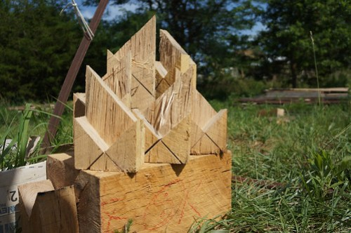 Timber Framing French Snap