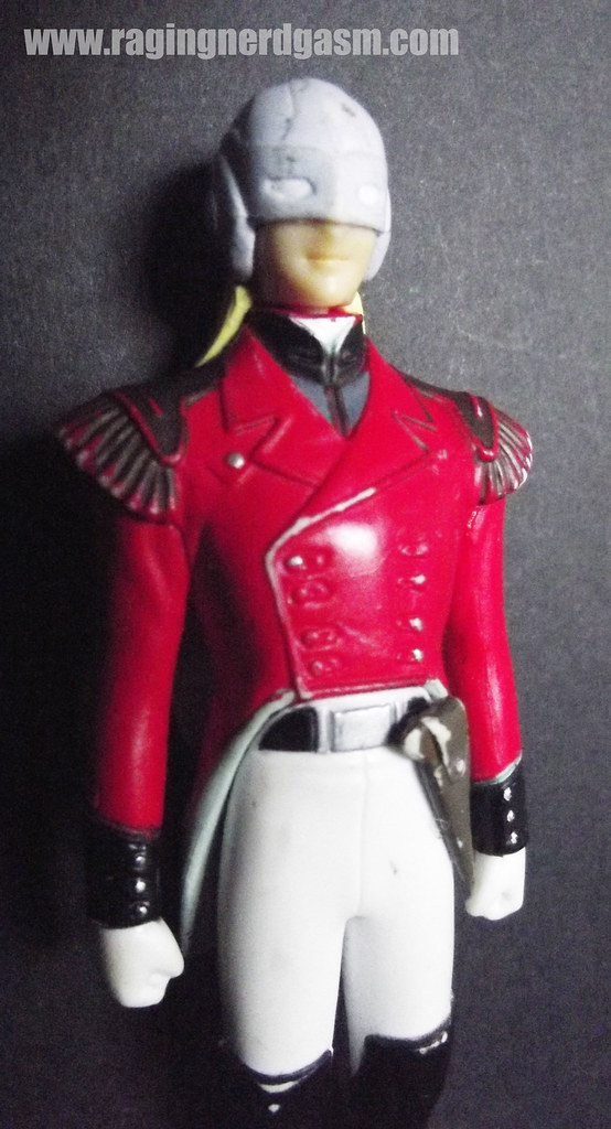 Mobile Suite Gundam Wing - Zech Marquise figures