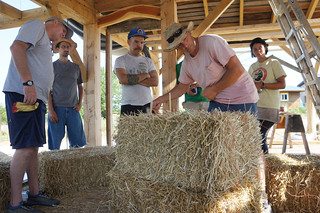 Straw Bale Workshops at The Year of Mud