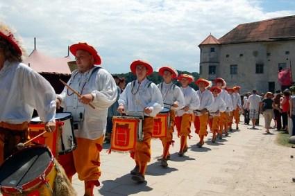 Burgfest 2012 ~ Drum processional