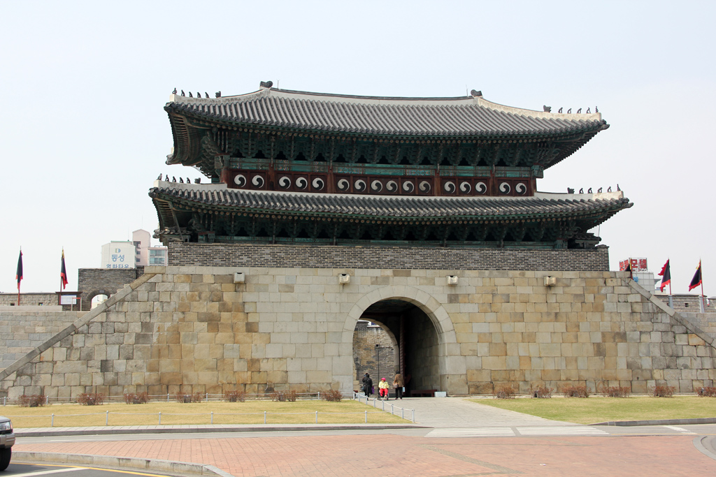 One of the main gates