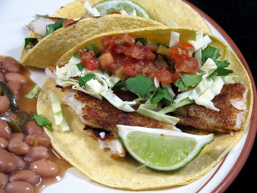 Jeff's Tilapia Grilled Fish Tacos