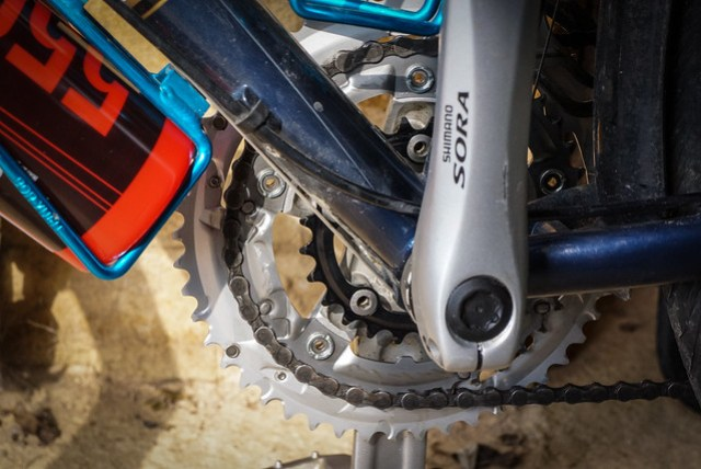 Kona Sutra 2012: Chainset detail