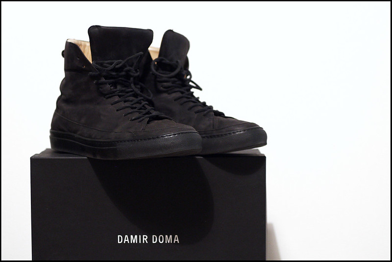Tuukka13 - Souvenirs from New York, Paris and Mexico - Damir Doma Horse Leather High-Top Sneakers - 10