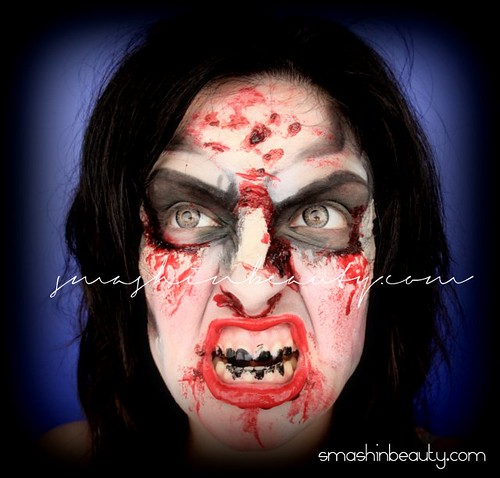 The Walking Dead Zombie Makeup