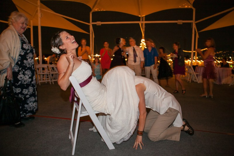 garter toss for the ladies