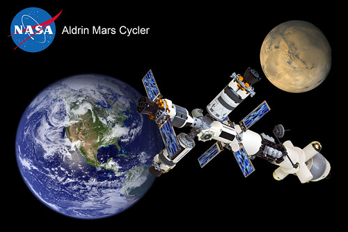 "Earth-Mars Cycler ""Aldrin"" (1)"