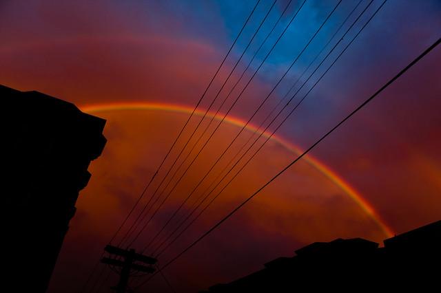 Double Rainbow in San Francisco