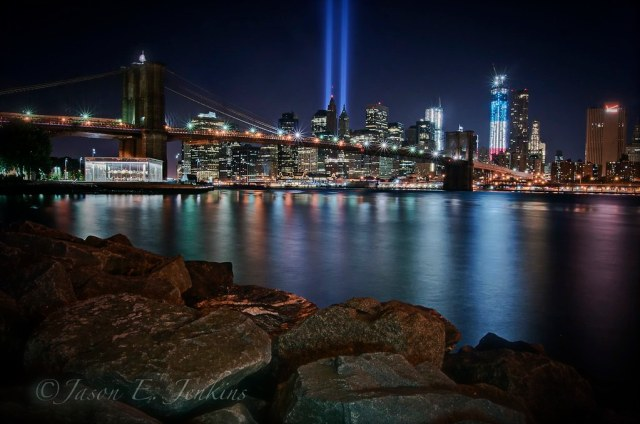 "Brooklyn Beacon ""tribute in light"""