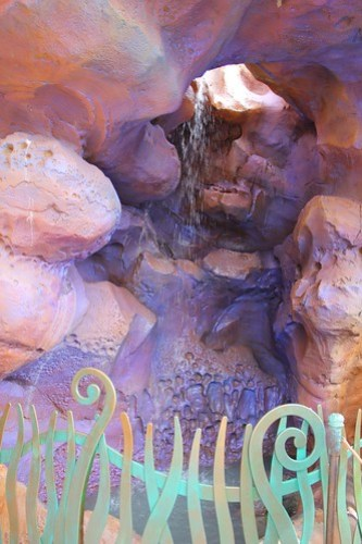 Ariel's Grotto in New Fantasyland
