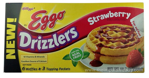 Kellogg's Eggo Strawberry Drizzlers