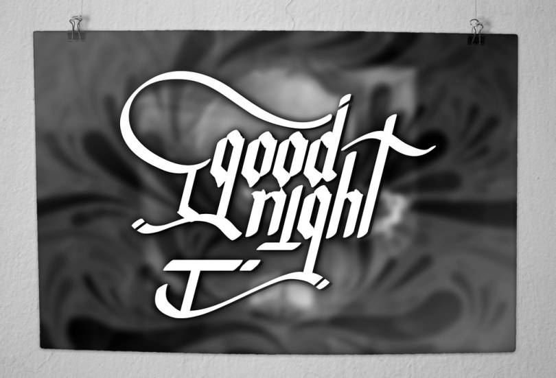 GOOD NIGTH POSTER COVER
