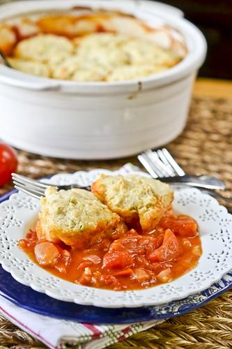 Tomato Cobbler 4
