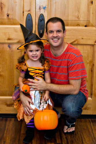 Annie Witch and Daddy