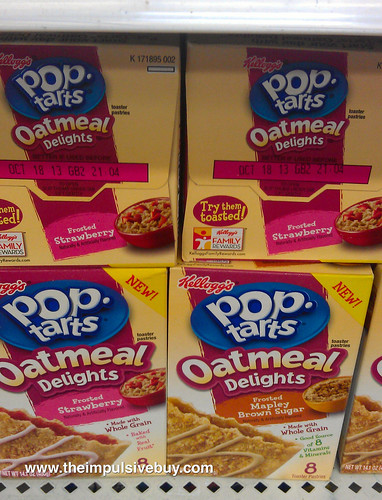 Pop-Tarts Oatmeal Delights