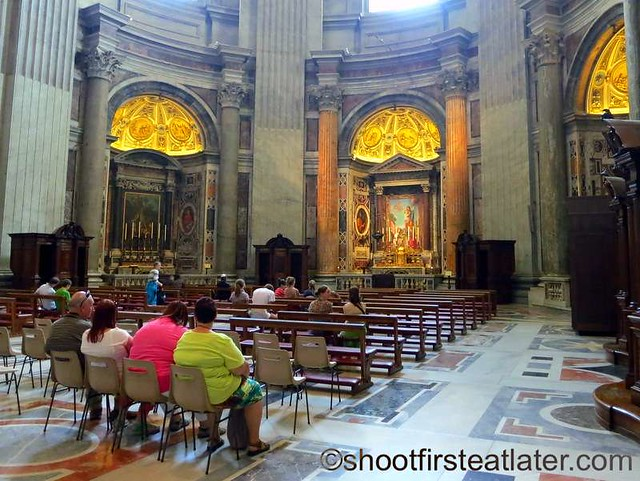 St. Peter's Basilica- Our Lady of the Column Chapel