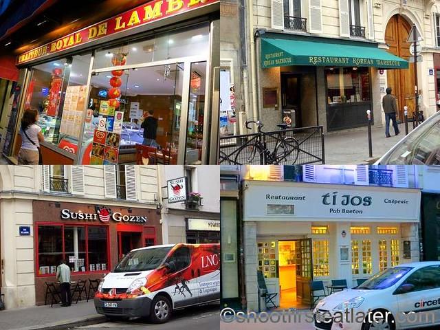 Lenox Montparnasse - restaurants & shops on Rue Delambre-004