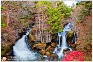 [日本關東楓紅之旅3-4]日光:龍頭瀑布(竜頭の滝)