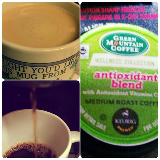 Thank you @bzzagent! And #greenmountaincoffee SO good! #igotitfree #wellnesscollectionbzz